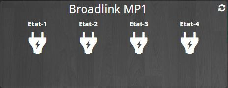 multiprise broadlink widget