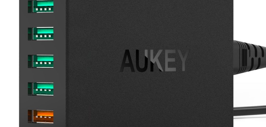 Chargeur USB 5 ports Aukey Qualcomm Quick Charge 2.0