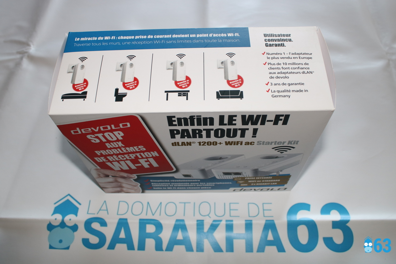 Starter Kit dLAN 1200 + WiFi ac Devolo