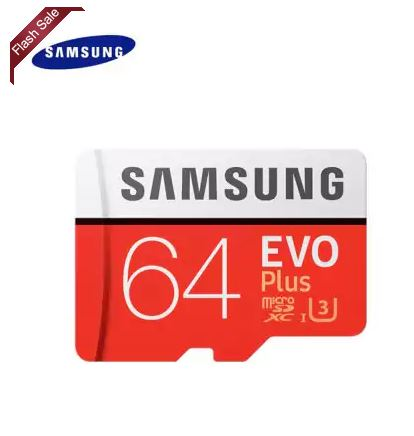 Carte SD Samsung Evo+ 64 Gb
