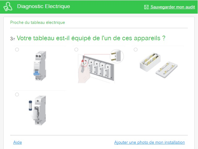 Diagnostic Schneider Electric