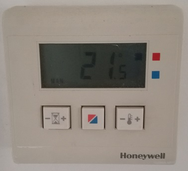 Photo du thermostat honeywell
