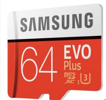 Carte Micro SD Samsung Evo+ 64 Gb
