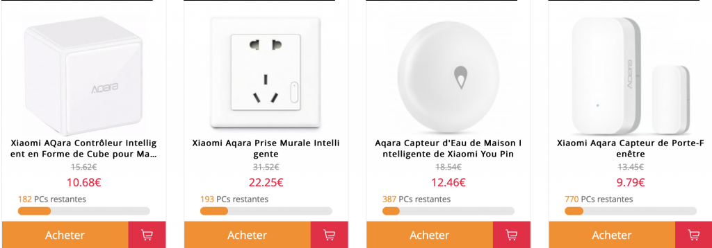 Vente Flash Aqara