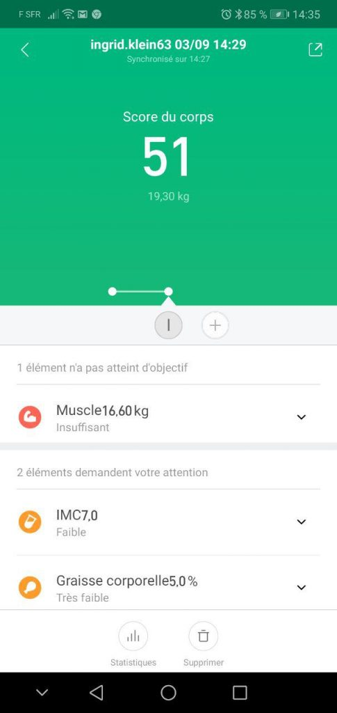 Balance connectée Xiaomi Smart Scale