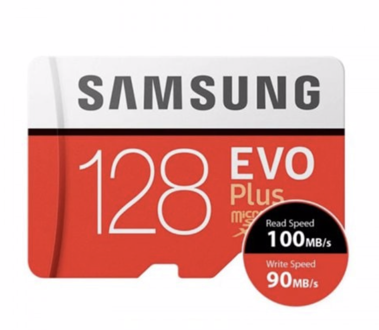 Carte Micro SD Samsung Evo+ 128Gb